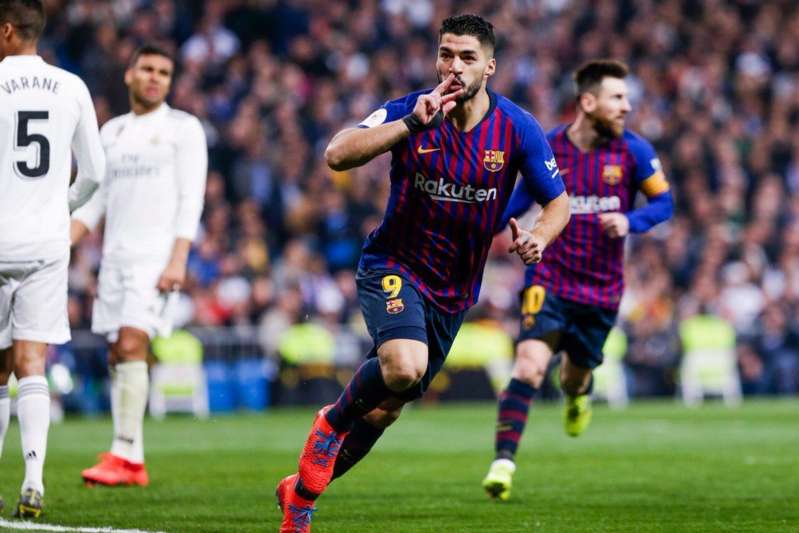 شاهد هدف فوز برشلونة على ريال مدريد في الدوري الإسباني