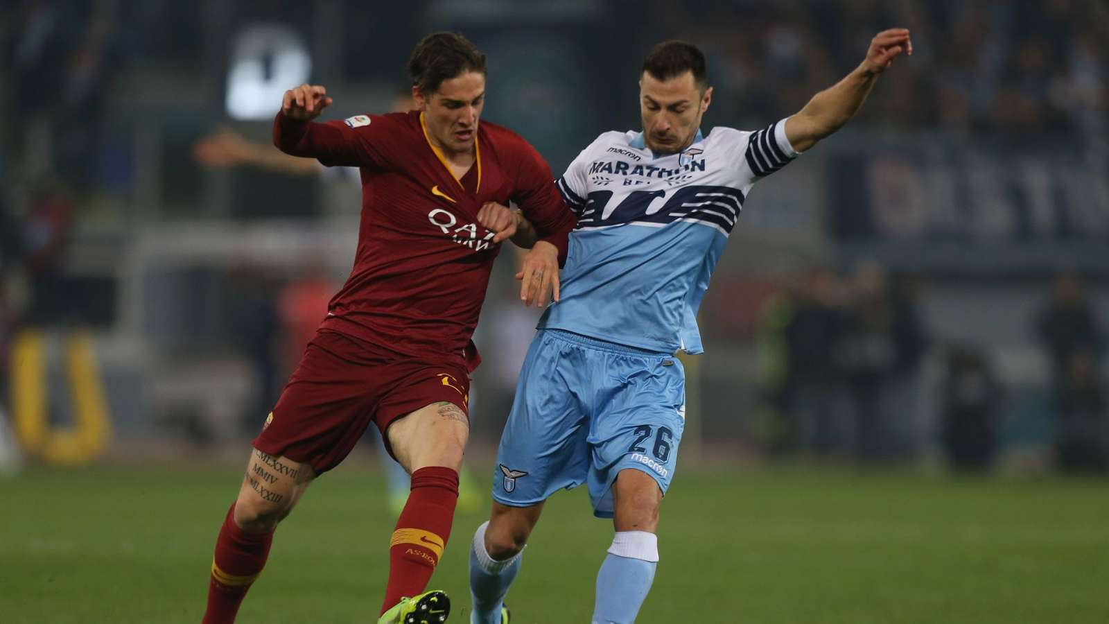 شاهد أهداف فور لاتسيو على روما 0/3 في الدوري الإيطالي