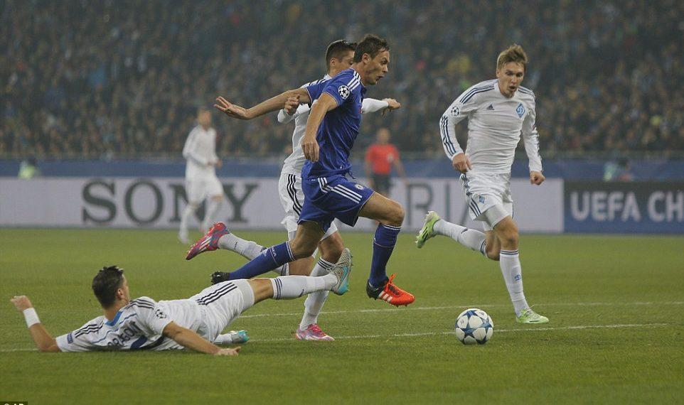 شاهد أهداف فوز تشيلسي على دينامو كييف 3-0 بالدوري الأوروبي