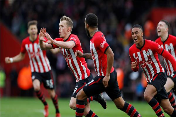 شاهد أهداف فوز ساوثامبتون على توتنهام 2-1 بالدوري الإنجليزي
