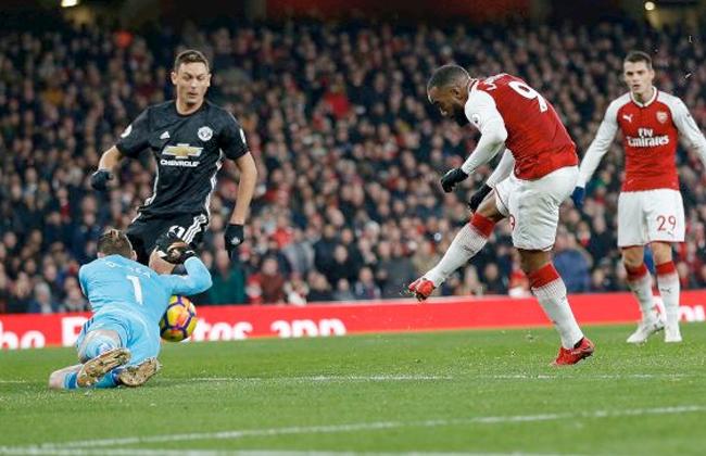 شاهد هدفا فوز أرسنال على مانشستر يونايتد 0/2 بالدوري الإنجليزي