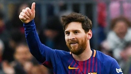 شاهد أهداف فوز برشلونة على ليون 5-1 بدوري أبطال أوروبا