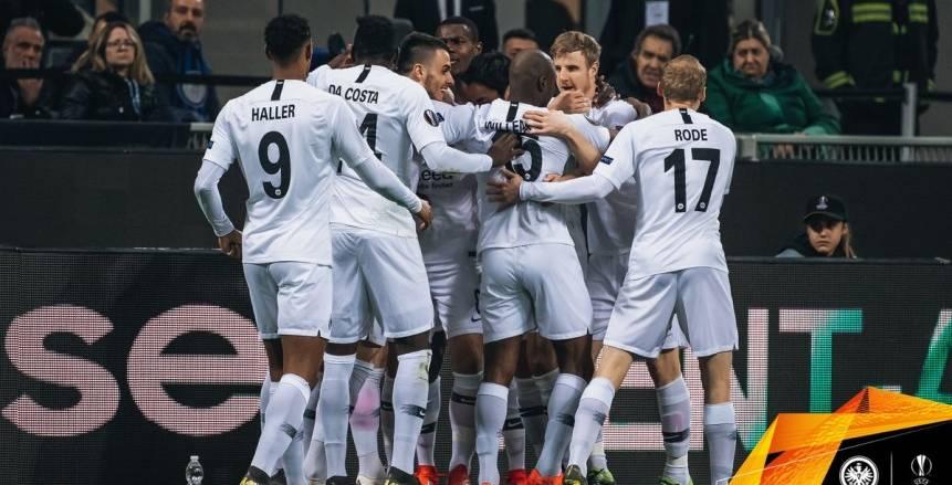 شاهد هدف فوز فرانكفورت على إنتر ميلان 1-0 بالدوري الأوروبي