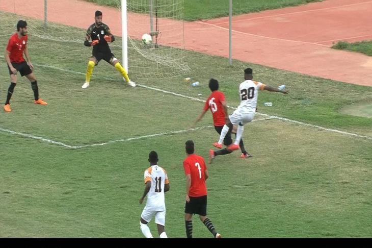 شاهد هدفا تعادل مصر أمام النيجر 1-1 تصفيات الأمم الإفريقية