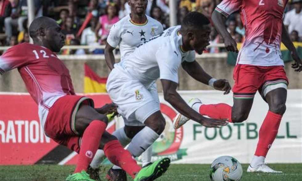 هدف فوز غانا على كينيا بتصفيات كأس الأمم الإفريقية