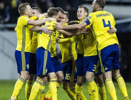 شاهد أهداف فوز السويد على رومانيا 2-1 تصفيات يورو 2020