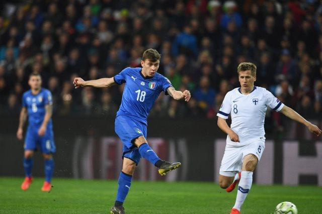 هدفا فوز إيطاليا على فنلندا 0/2 تصفيات يورو 2020