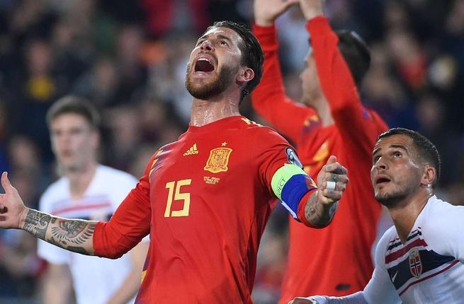 شاهد أهداف فوز إسبانيا على النرويج 2-1