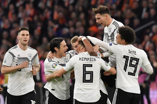شاهد أهداف فوز ألمانيا على هولندا 3-2