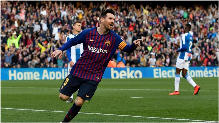 شاهد هدفا فوز برشلونة على إسبانيول بالدوري الإسباني