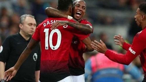 أهداف فوز مانشستر يونايتد على واتفورد 1/2 بالدوري الإنجليزي