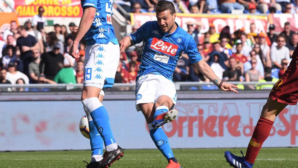 شاهد أهداف فوز نابولي على روما 4-1