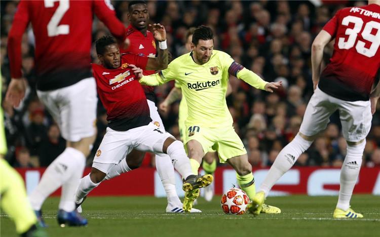 شاهد هدف فوز برشلونة على مانشستر يونايتد 1-0