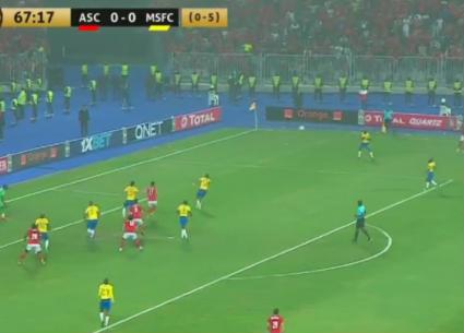 هدف فوز الأهلي على صن داونز في إياب ربع نهائي أبطال إفريقيا