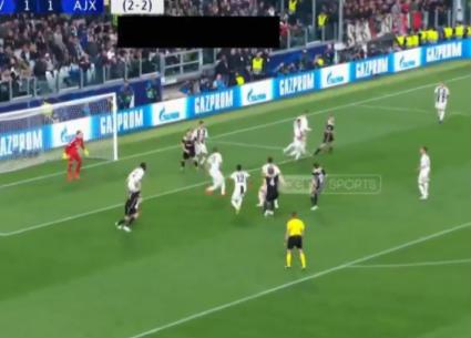 أهداف فوز أياكس على يوفنتوس 2-1