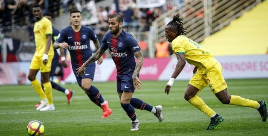 أهداف فوز نانت على باريس سان جيرمان 3-2