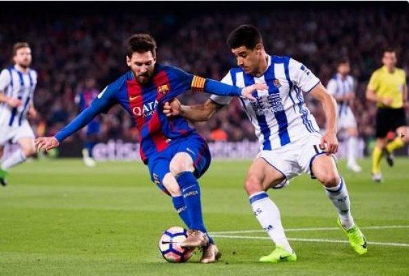 أهداف فوز برشلونة على سوسيداد 2-1