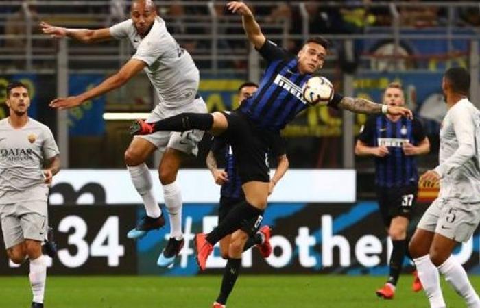 هدفا تعادل إنتر ميلان وروما في الدوري الإيطالي