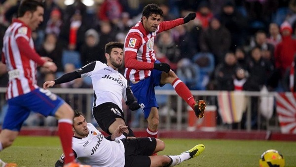 أهداف فوز أتليتكو مدريد على فالنسيا 3-2