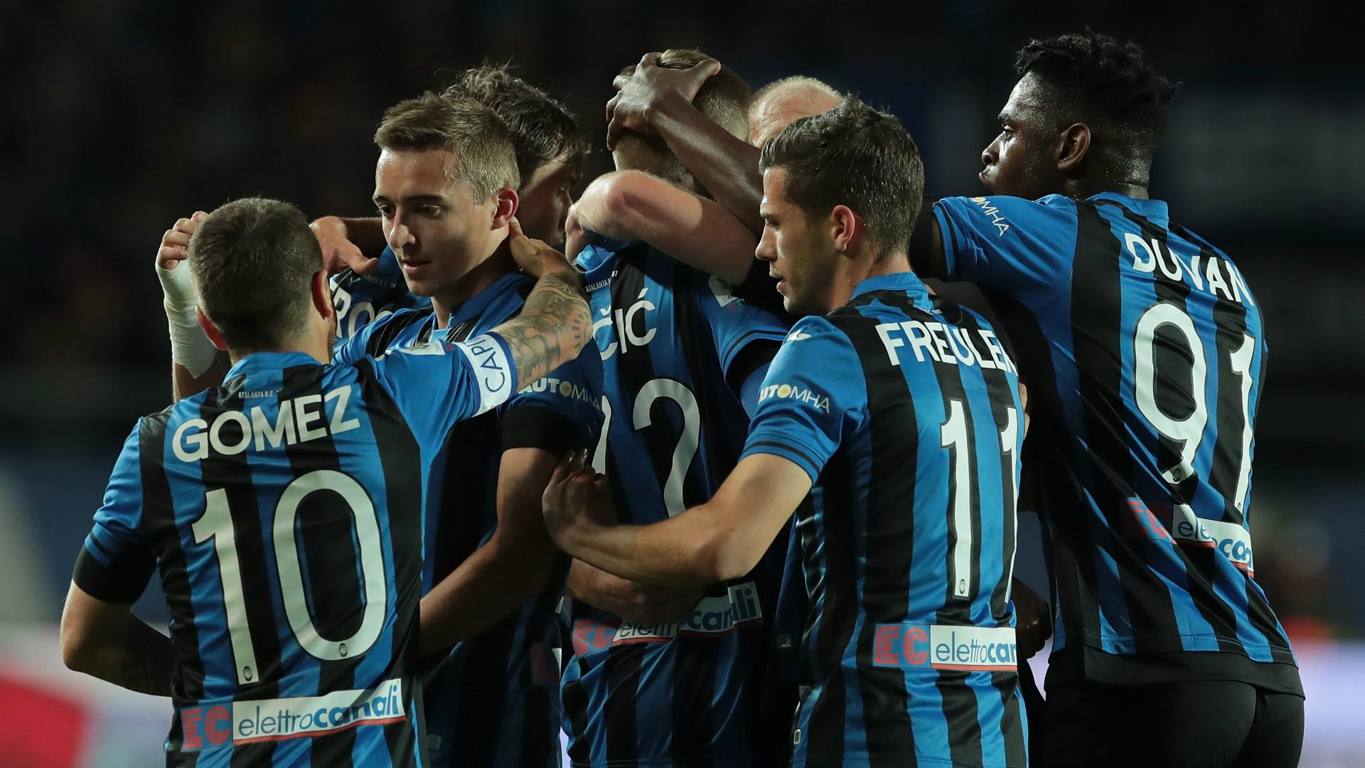 أهداف فوز أتالانتا على فيورنتينا 1/2 كأس إيطاليا