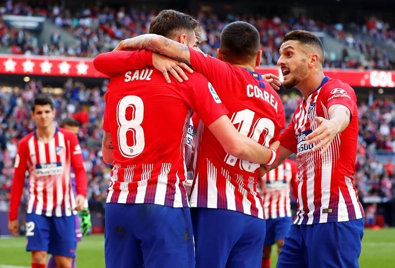 هدف فوز أتليتكو مدريد على بلد الوليد