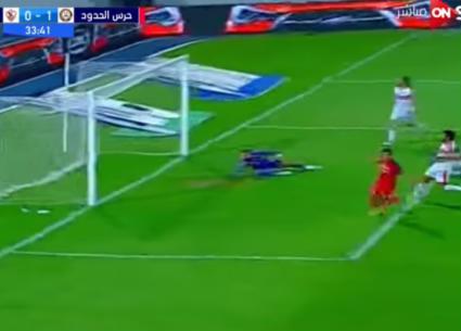 هدفا تعادل الزمالك وحرس الحدود في الدوري المصري