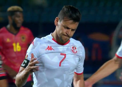 شاهد الهدف الأول لتونس في مرمى أنجولا
