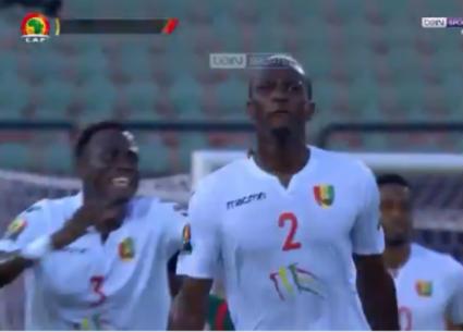 الهدف الأول لغينيا في مرمى بوروندي