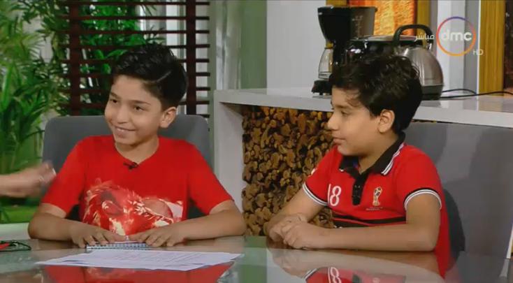 توقعات الأطفال لنتيجة مباراة مصر وجنوب إفريقيا