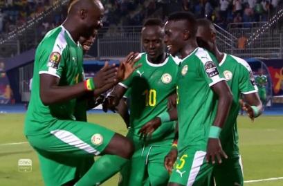 شاهد هدف فوز السنغال على بنين