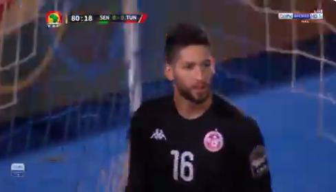 ضربة جزاء السنغال الضائعة أمام منتخب تونس