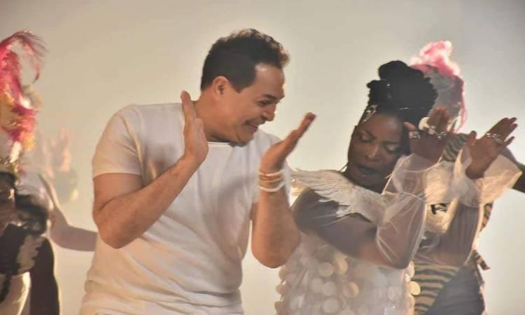 """كواليس تحضير أغنية """"متجمعين"""" في افتتاح بطولة الأمم الإفريقية"""