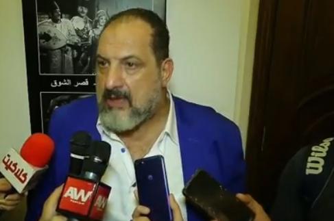 خالد الصاوي يصف تامر حسني في 3 كلمات