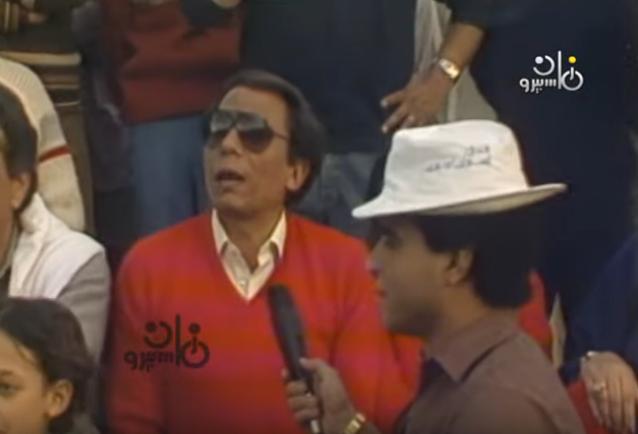 عادل إمام معلق على مباراة بين يسرا وليلى علوي