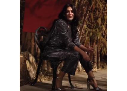 إنجي المقدم تدعم الجرأة في تصميم الأزياء