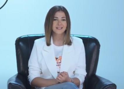 """دنيا سمير غانم وجه مبادرة """"دوّي"""" لتمكين البنات"""