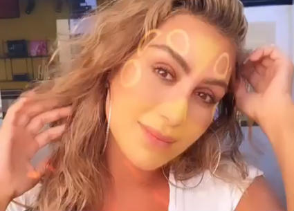"""مايا دياب تحصل على """"الفلتر"""" الخاص بها على Instagram"""