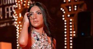 كواليس تصميم فستان هدى المفتي في افتتاح مهرجان الجونة
