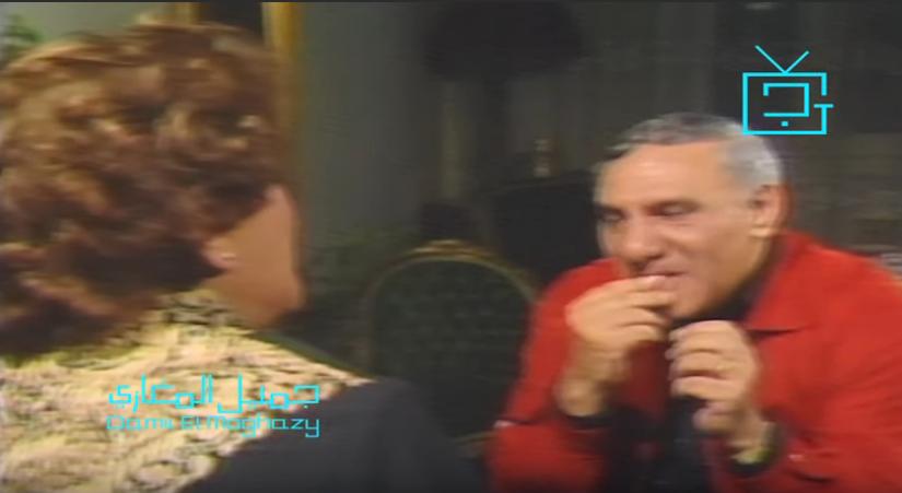 لقاء نادر - سناء جميل تحرج مفيد فوزي بسبب قشر اللب
