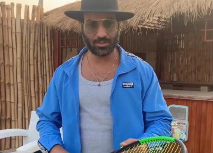 أحمد فهمي يشارك في تحدي O West
