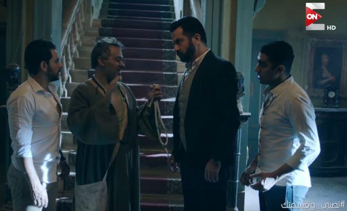 """راجح يحاول قتل أواب للتخلص من لعنة القصر المسكون """"نصيبي وقسمتك 3"""""""