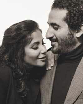 تفاصيل قصة حب وزواج أحمد حلمي ومنى زكى