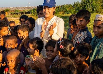 هند صبري تصف أصعب مشاهد زيارتها لمخيمات الروهينجا