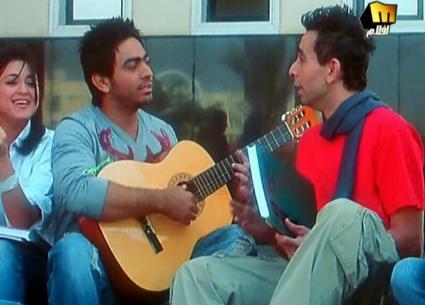 """تامر حسني يودع جيتار """"عمر وسلمى"""""""