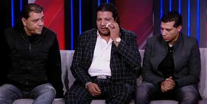 ابن شعبان عبد الرحيم يبكي بعد مشاهدة فيديو لوالده