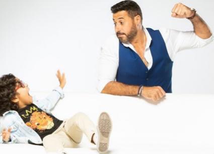 """الطفل آدم يصف مزاح أحمد السعدني في """"شبر ميه"""""""