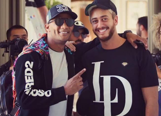 """سعد لمجرد يرقص على """"نمبر وان"""" لمحمد رمضان في حفل دبي"""