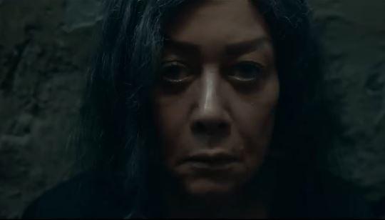 """هالة فاخر بدون حجاب في فيلم الرعب """"ريما"""""""