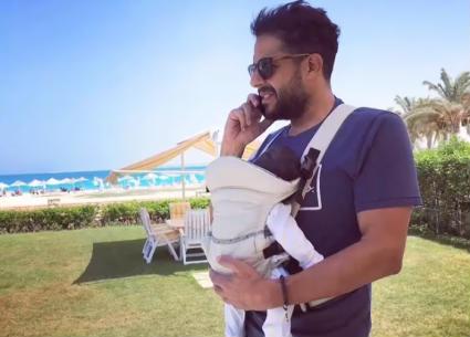 محمد حماقي يكشف مصير أغنية طفلته فاطمة