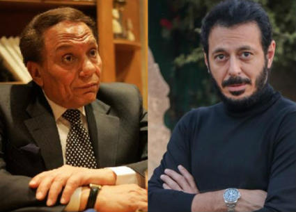 """""""حتى لا يطير الدخان""""..مصطفى شعبان يشكر عادل إمام على تشجيعه"""